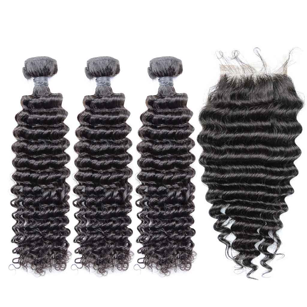 Brazilian-deep-wave-curly-hair-bundles-with-closure-virgin-hair-3-bundles-with-lace-closure