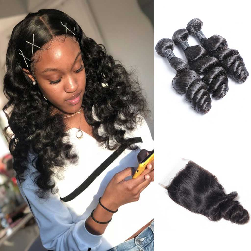 Brazilian-loose-wave-virgin-hair-bundles-with-cheap-human-hair-4x4-lace-closure