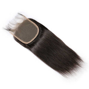 Brazilian-straight-virgin-hair-4x4-lace-closure-hand-tied-human-hair-bleached-knots