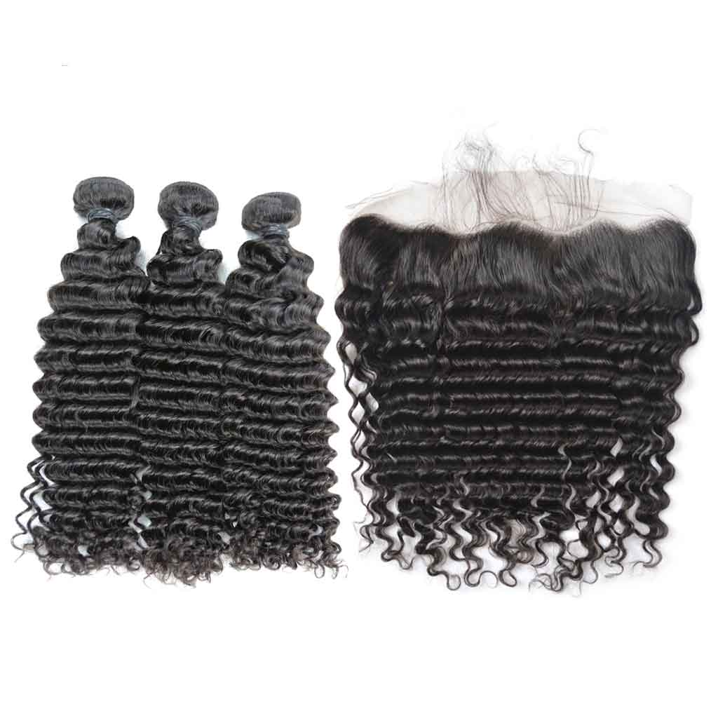 Brazilian-virgin-hair-deep-wave-lace-frontal-with-bundles-cheap-human-hair