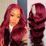 Burgundy-99J-body-wave-lace-front-wig-transparent-lace-frontal-wigs