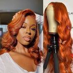 Ginger-lace-front-wig-for-black-women-preplucked-colored-frontal-wig