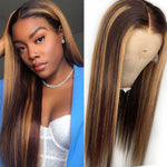 Highlight-straight-lace-front-wig-ombre-hair-4-27-frontal-wig