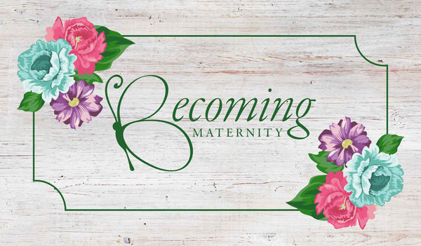 Becoming Maternity banner
