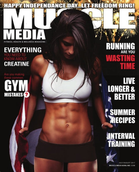 Muscle Media Magazine for women 2017 Jul-Aug