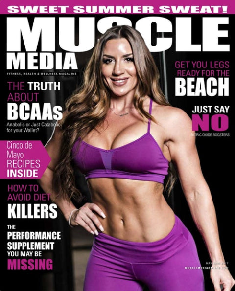 Muscle Media Magazine for women 2017 May-Jun