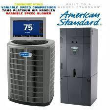 American Standard 4-Ton Platinum 18 SEER Variable Compressor with Electric Heat