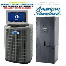American Standard 3-Ton Platinum 18 SEER Variable Compressor with Electric Heat