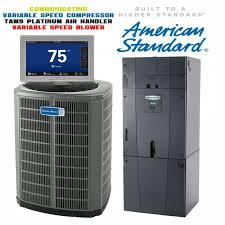 American Standard 2-Ton Platinum 18 SEER Variable Compressor with Electric Heat