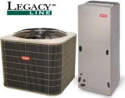 Bryant 2-Ton Legacy 16 SEER with Electric Heat