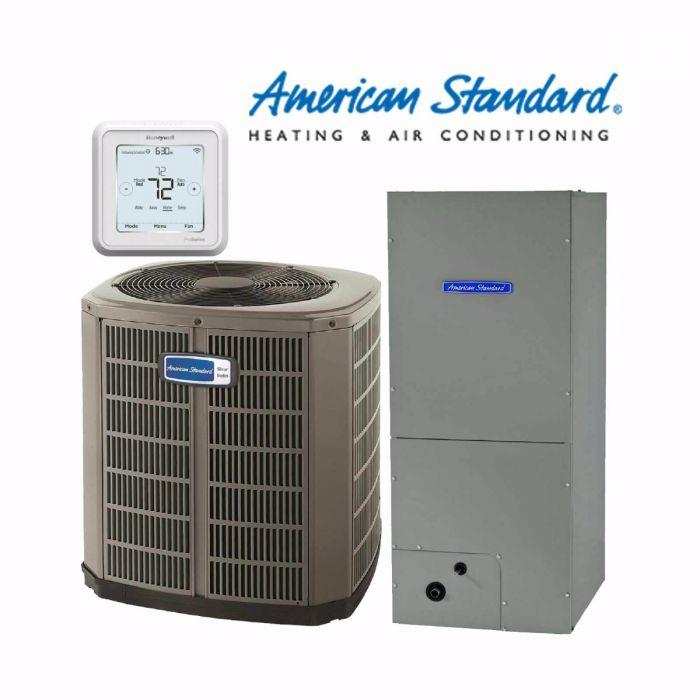 American Standard 1.5-Ton Silver 16 SEER with Electric Heat
