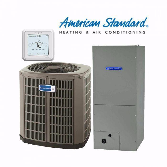 American Standard 4-Ton Silver 14 SEER with Electric Heat