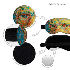 Van Gogh Sleep Mask