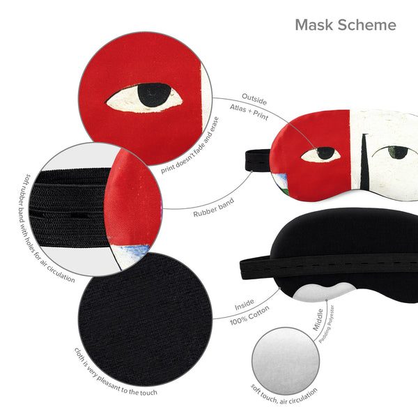 Kazimir Malevich Sleep Mask