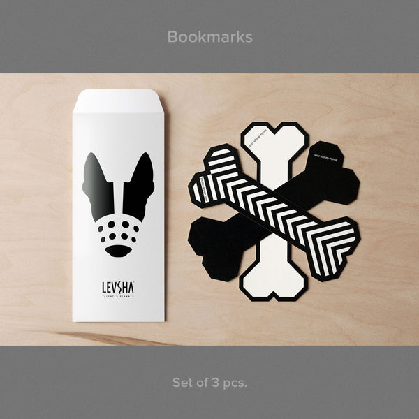 Postcards (set of 9 pcs) + Bookmarks (set of 3 pcs)