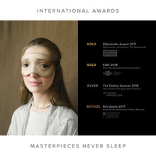 Load image into Gallery viewer, Girl Dressed in Blue Sleep Mask