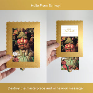 Hello From Banksy — Vertumnus, Postcards