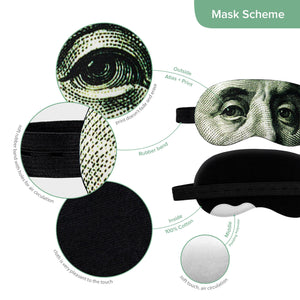 Benjamin Franklin Sleep Mask ($100)