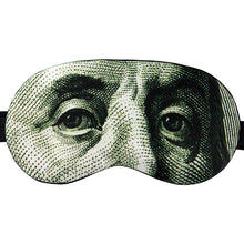 Load image into Gallery viewer, Benjamin Franklin Sleep Mask ($100)