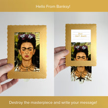 Load image into Gallery viewer, Hello From Banksy — Frida, Postcards