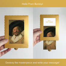Load image into Gallery viewer, Hello From Banksy — Merry Drinker, Postcards