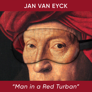 Man in a Red Turban Sleep Mask