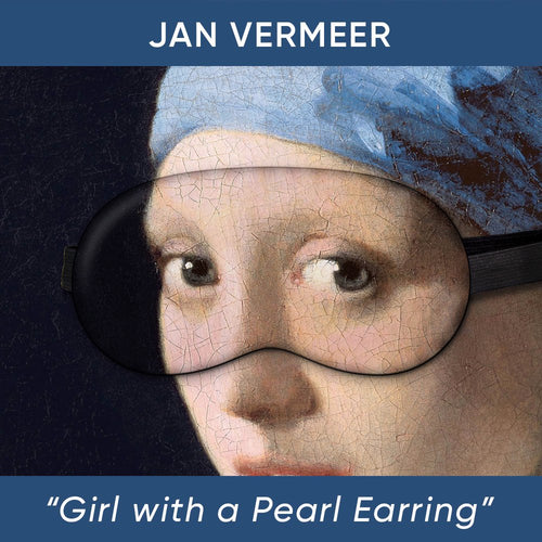 Girl with a Pearl Earring Sleep Mask