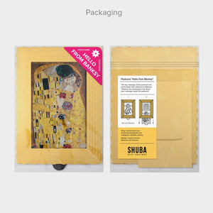 Hello From Banksy — Gustav Klimt - The Kiss, Postcards
