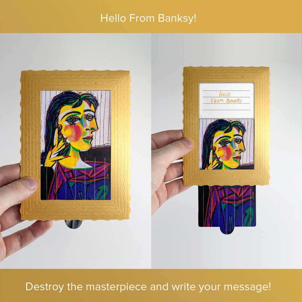 Hello From Banksy — Picasso, Postcards