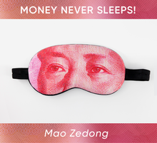 Load image into Gallery viewer, Mao Zedong Sleep Mask (100 Yuan)