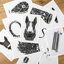 Load image into Gallery viewer, Postcards (set of 9 pcs) + Bookmarks (set of 3 pcs)
