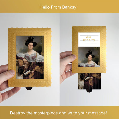 Hello From Banksy — Alida Christina Assink, Postcards