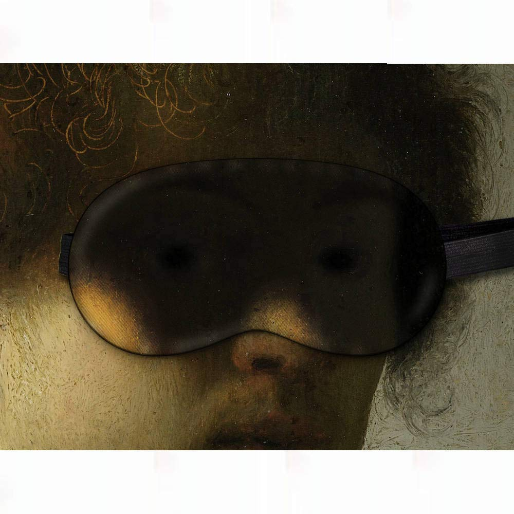Sleeping Mask Night Cover Blindfold for Travel Airplane Rembrandt