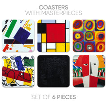 Load image into Gallery viewer, Coasters Abstract-2 (6 in 1)