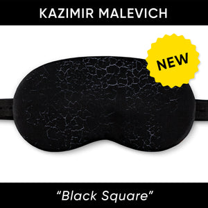 Black Square Sleep Mask