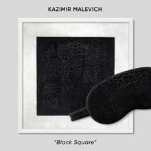 Load image into Gallery viewer, Black Square Sleep Mask