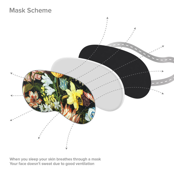 Flowers Sleep Mask