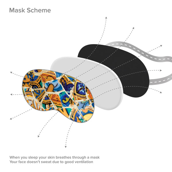 Antoni Gaudi Sleep Mask