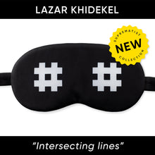 Load image into Gallery viewer, Intersecting Lines Sleep Mask