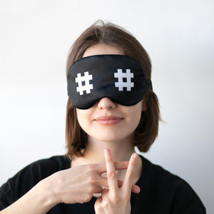 Intersecting Lines Sleep Mask