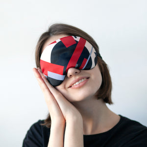 Suprematism Sleep Mask