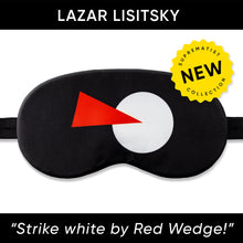 Load image into Gallery viewer, Strike white by Red Wedge(2) Sleep Mask