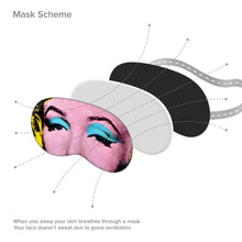 Load image into Gallery viewer, Marilyn Monroe Sleep Mask