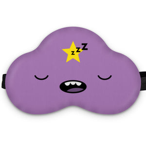 Lumpy Princess sleep mask