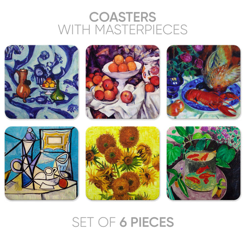 Coasters Still life-1 (6 in 1)
