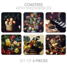 Load image into Gallery viewer, Coasters Still life-2 (6 in 1)