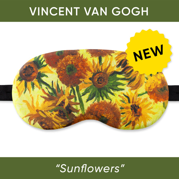 Sunflowers Sleep Mask