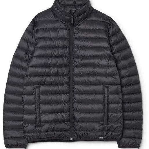 TRETORN - MENS SAREK SPRING PUFFER JACKET IN JET BLACK
