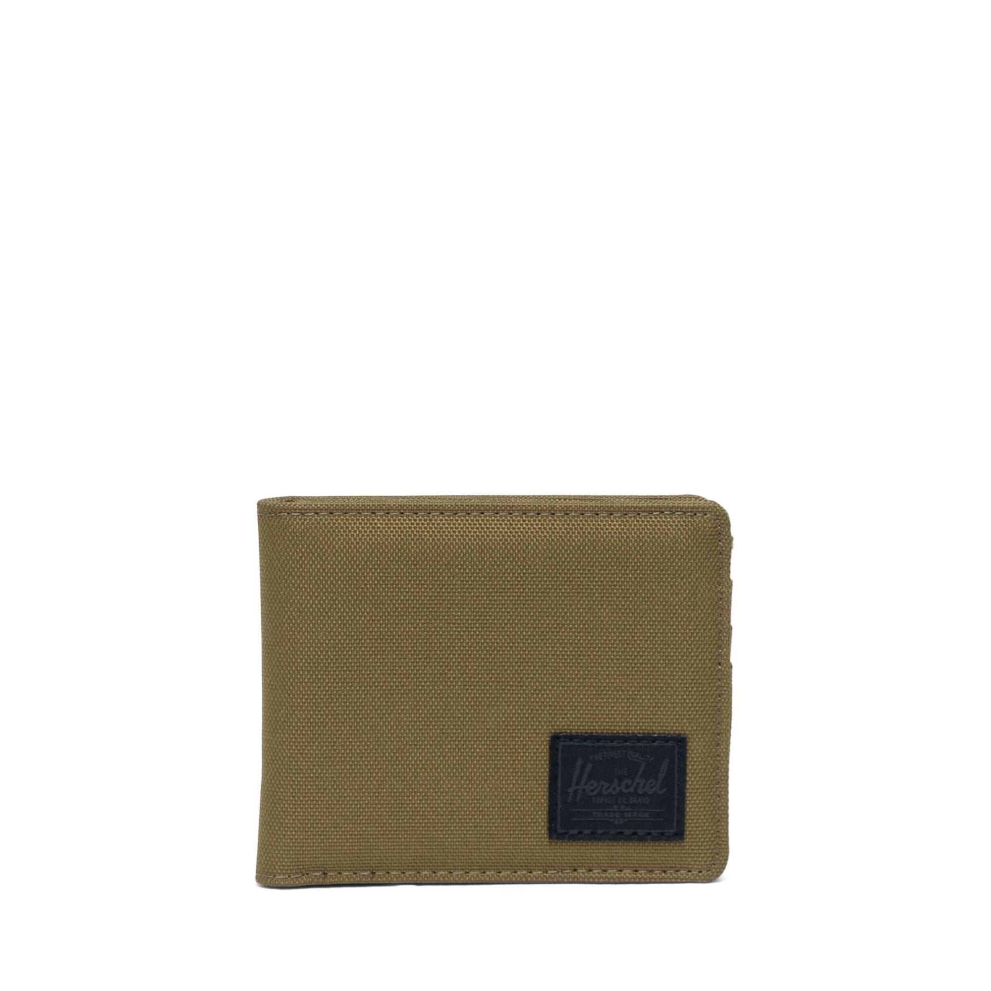 HERSCHEL - ROY WALLET IN KHAKI GREEN