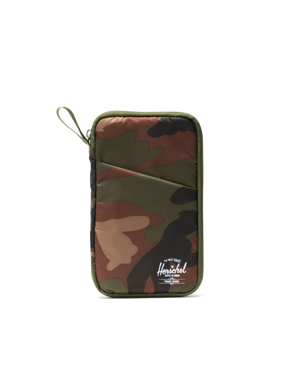 HERSCHEL - TRAVEL WALLET IN WOODLAND CAMO